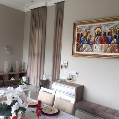 Quadro pintado a mão Santa ceia espatulada,para decoração medida 70x120 códio 1061