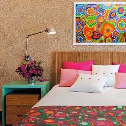 Quadro abstrato multicoloridos, Ágata, pintado a mão 60x80 código 1097