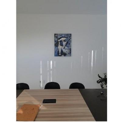 Quadro decorativo, pintado a mão, para escritório advocatício tema Deusa da justiça, Themis modelo 3, 50x70 código 624