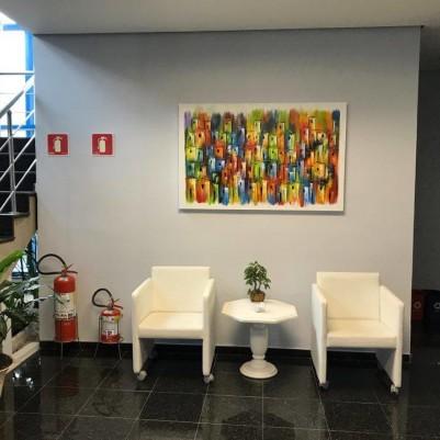 Quadro casario estilo moderno abstrato colorido 2a 90x140 código 871
